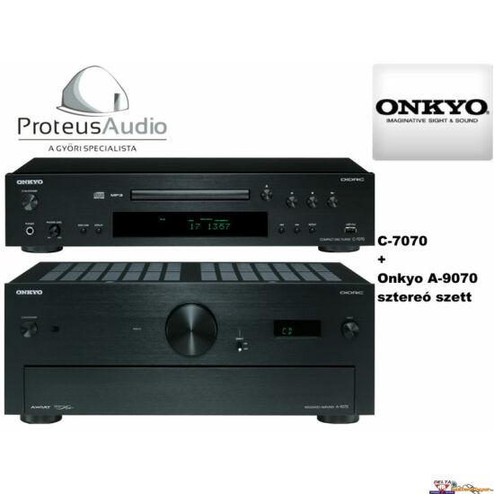 Onkyo A-9070 + C-7070 sztereó szett