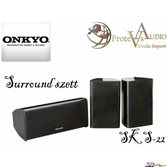 Onkyo SKS-22 center, és háttérsugárzó szett