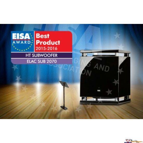 ELAC SUB 2070 High End Mélyláda szoba EQ-val