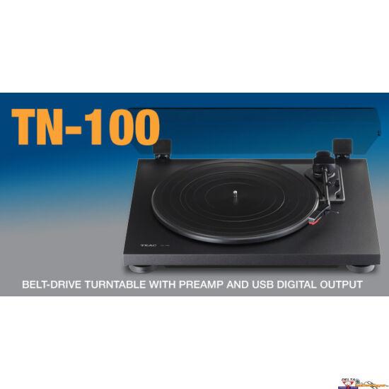 TEAC TN-100 Szíjhajtású 33/45 f/p lemezjátszó USB-vel