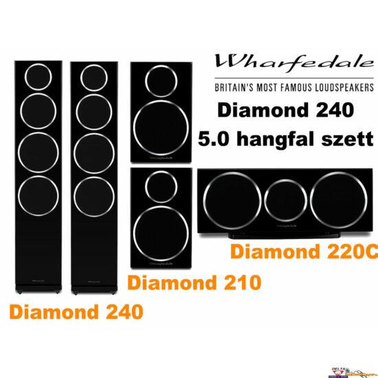 Wharfedale Diamond 240 5.0 hangfal szett