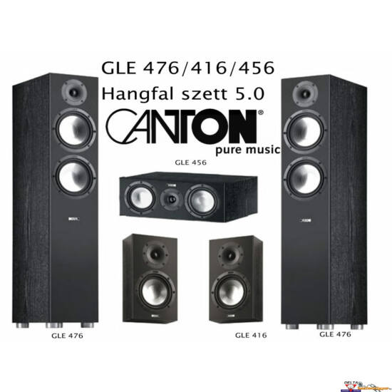 Canton GLE 476.2 / 416.2 / 456.2 5.0 hangfal szett