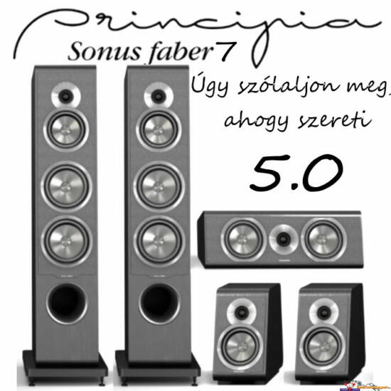 SONUS FABER Principia 7 hangfal szett 5.0