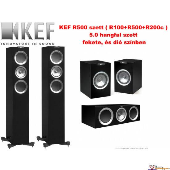 KEF R500 5.0 hangfal szett (R100+R500+R200c)