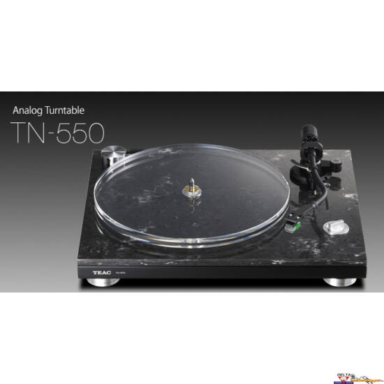 TEAC TN-550 szíjhajtásos bakelit lemezjátszó