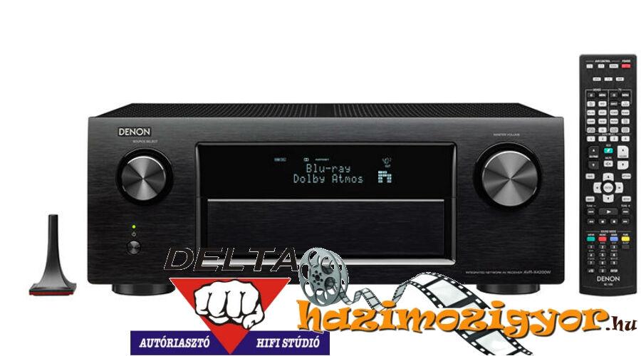 DENON AVR-X4300H hálózatképes Dolby Atmos 9.2 HD Házimozi erősítő ... df7e92458d