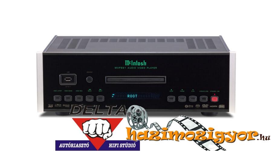 McIntosh MVP891 High-End 3D Blu-Ray Lejátszó