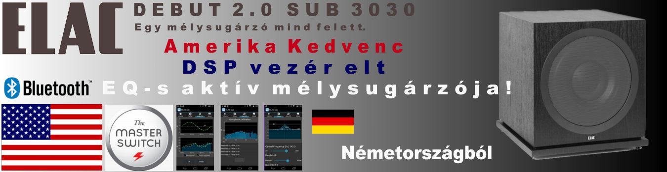ELAC Debut SUB3030